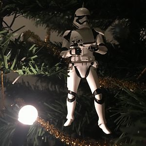 First Order Stormtrooper Xmas Tree Decoration